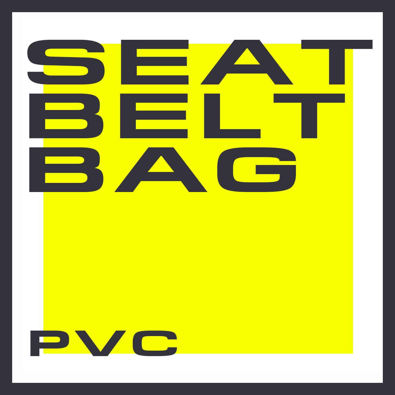 SEAT BELT BAG PVC