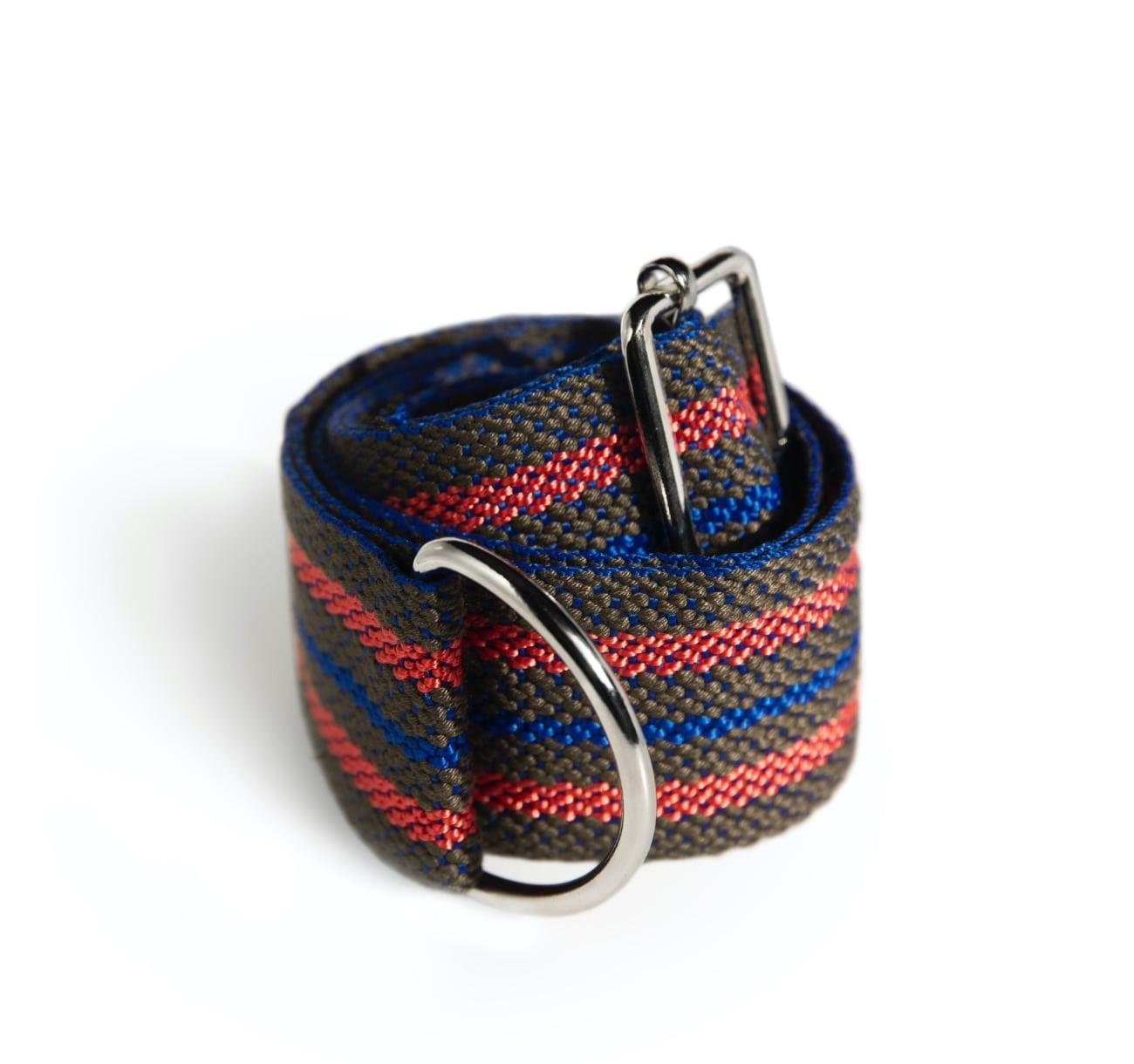 sivo-modro-červený / grey&blue&red