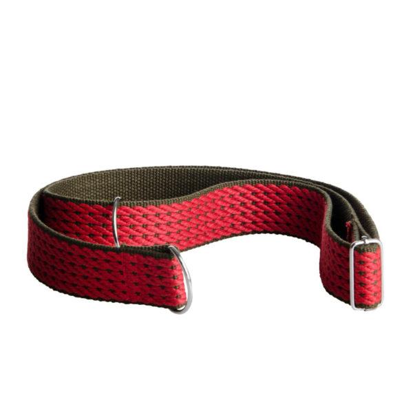 Cross-body popruh červený