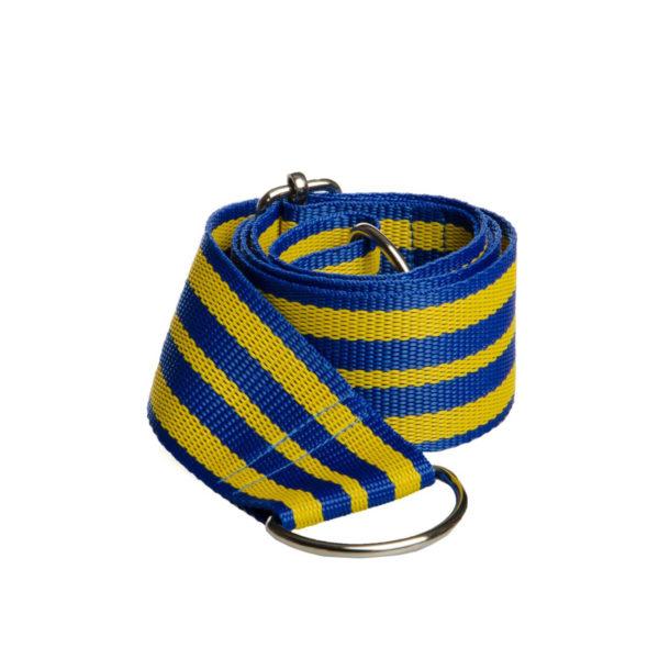 Cross-body popruh modro-žltý